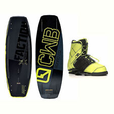 CWB Faction Blem Wakeboard With LTD Faction Bindings 2017
