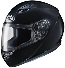HJC Adult CS-R3 Solid Black Full Face Motorcycle Helmet DOT