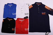ARMANI EMPORIO Men Polo T- SHIRT Short Sleeve Muscle Stretch Fit Genuine