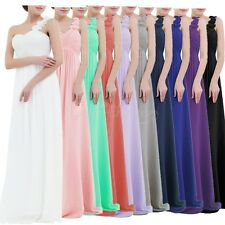 Women Long Bridesmaid Formal Dress Evening Party Wedding Cocktail Prom Size 2-16