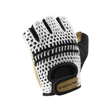 2017 Altura Classic 2 Crochet Track Mitts Gloves White/Tan RRP £19.99