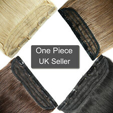 Professional One Piece Clip in Remy 100% Real Human Hair Extensions UK SALE N744