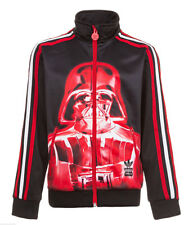 Adidas Kids Children's Boy's Firebird Star Wars Darth Vaider Track Jacket Jacket