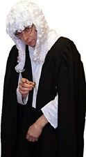 Victorian/Edwardian Unisex JUDGE/BARRISTER GOWN & WIG COSTUME All Sizes