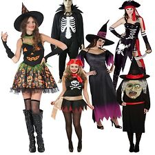 Womens Ladies Fancy Dress Halloween Stag Party Night Out Adult Costume 8-16