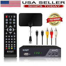 1080P Digital Analog Clear Cable + ATSC TV Tuner HDTV Receiver Antenna Convertor
