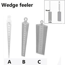 Welding Taper Gauge Slot Width Gap Hole Size Gage Metric & Inch,Made of stainles