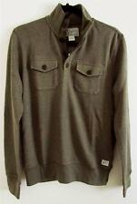 Lucky Brand Quarter Button Up L/S Knit Sweater Sz S M NWT 7MD7183