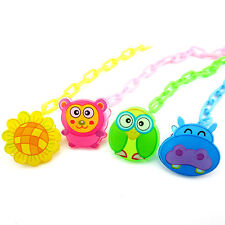 Pop Pacifier Chain Baby Dummy Clip Holder Feeding Product Anti Lost Holder Set
