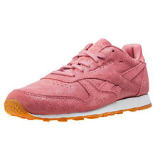 Reebok Classic Clean Exotics Womens Trainers Rose New Shoes
