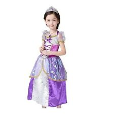 Disney Princess Rapunzel Inspired by Tangled Dress Costume for Girls 4-10