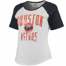 Houston Astros Women's White Timeless Serenity Baseball T-Shirt - MLB