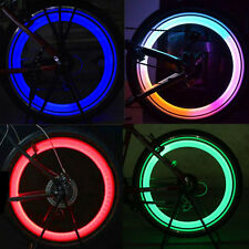 HOT sale Vogue Bright Bike Bicycle Cycling Wheel Tire Tyre LED Spoke Lights Lamp