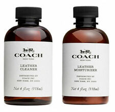 New Coach Signature Leather Cleaner and Moisturizer 4oz for Tote Bag Lover