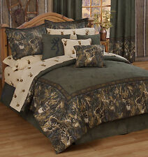 BROWNING WHITETAILS BEDDING - SHEETS SET  TWIN, FULL, QUEEN, KING