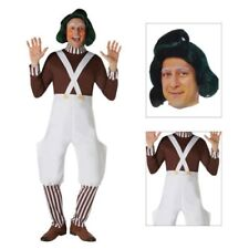 Rubies Adults Official Willy Wonka Chocolate Factory Oompa Loompa Costume Outfit