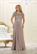 TheDressOutlet Mother of the Bride Long Dress Plus Size Formal Evening Gown