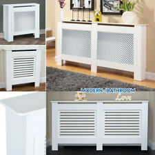 Modern Home White Wall Radiator Cover Radiator-cabinet MDF 4 Sizes, S /M /L / XL