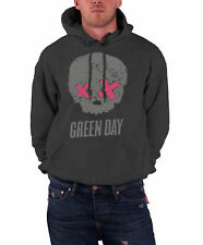 Green Day Hoodie band logo American Idiot Skull Official Mens New Pullover