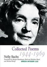COLLECTED POEMS 1944-1949 - SACHS, NELLY/ HAMBURGER, MICHAEL (TRN)/ MEAD, RUTH (