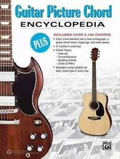 GUITAR PICTURE CHORD ENCYCLOPEDIA - ALFRED MUSIC PUBLISHING CO., INC. (COR) - NE