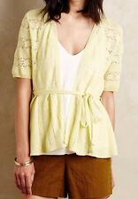 Anthropologie Lace Stitch Cardigan by Knitted & Knotted Sz M - NWT