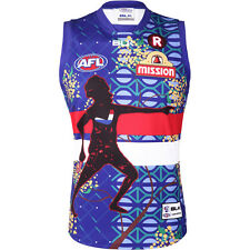 Western Bulldogs BLK 2016 AFL Indigenous Guernsey Adult & Kid Sizes