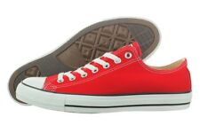 Converse Chuck Taylor AS OX Red M9696 Casual Canvas Shoes Medium (B, M) Womens