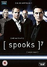 Spooks - Series 7 - Complete (DVD, 4-Disc Set) . FREE UK P+P ...................