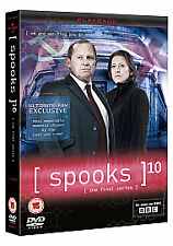 Spooks - Series 10 - Complete (DVD, 3-Disc Box Set) . FREE UK P+P ..............