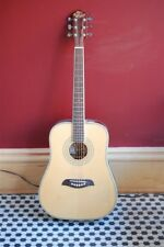 Washburn Oscar Schmidt Acoustic Guitar Left Handed