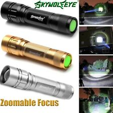 15000LM 3 Modes Flashlight CREE XML T6 LED 18650 Zoomable Torch Camping Lamp J