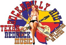 Texas Redneck 50's Style Retro Cloths R & B Blues Rockabilly Riot Music T Shirt