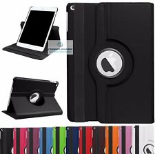 360 Rotating Smart Leather Case Cover with stand for Ipad 5 2017 5th Gen 9.7""