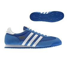 adidas ORIGINALS DRAGON TRAINERS MEN'S SHOES SNEAKERS RETRO ROYAL NEW