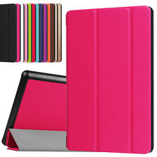 "PU Leather Case Smart Cover Stand for Amazon Kindle Fire HD 8"" Protector 6th Gen"