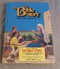 THE BIBLE STORY BY ARTHUR S. MAXWELL VOL 1  1981 DISPLAY COPY