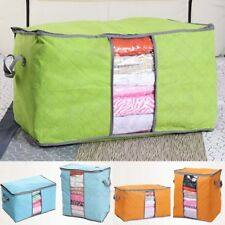 Useful Foldable Storage Bag Clothes Blanket Quilt Closet Sweater Organizer Box