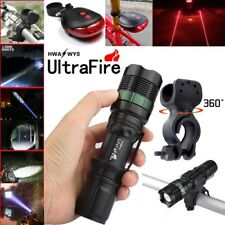 Ultrafire 12000LM Zoomable CREE XML T6 LED Flashlight Torch Super Bright Light