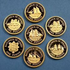 £1 ONE POUND COINS. iSLE OF MAN, GIBRALTAR, GUERNSEY, JERSEY, LOTS OF DATES