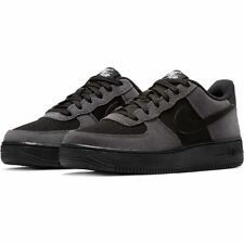 Boys' Nike Air Force 1 (GS) Shoe 	596728-034 DARK GREY/BLACK-WHITE-BLACK