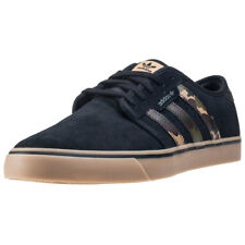adidas Seeley Mens Trainers Black Gum New Shoes