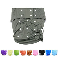 10 Colors Waterproof Teen Adult Cloth Diaper Nappy Pants for Bedwetting I*TB