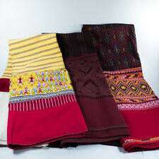 THAI SINH TEEN-CHOK HAND WOVEN COTTON ANTIQUE PATTERN EXCLUSIVE DECORATE CLOTHES
