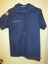 BSA/Boy, Cub Scout Navy Blue Shirt, Short Sleeve Youth/Boys - 10