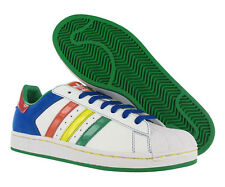 Adidas Superstar Ii Cb Mens Shoes White/multi-color Size