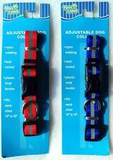"""Dog Collar Adjustable Fits  10 to 16""""  NEW Stripe  Paws N Claws Pet Puppy Pup"""