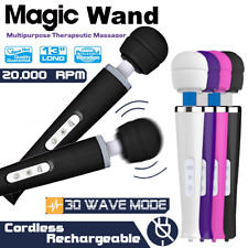 30 Mode CORDLESS Magic Wand Body Personal Massager Vibrator HITACHI
