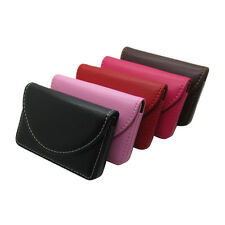 New Pocket PU Leather Business ID Credit Card Holder Case Wallet QW
