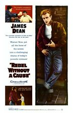 Rebel without a Cause James Dean Vintage Movie Poster Reproduction